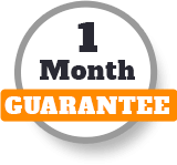 One Month Guarantee