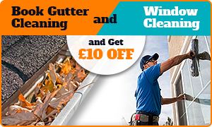 Gutters + Window Cleaning = £10 OFF