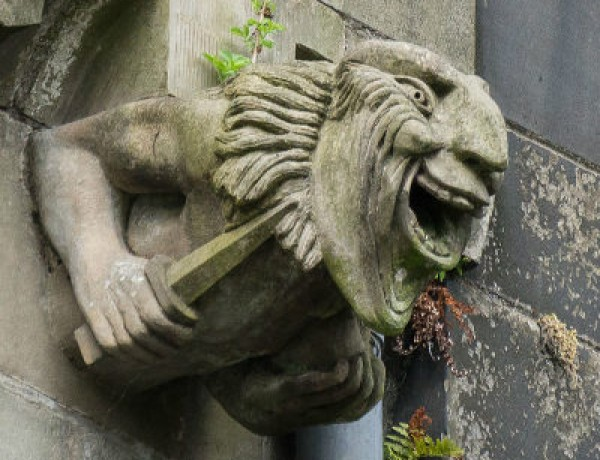 Maniacal Scary Gargoyle