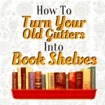 Rain Gutter Book Shelf Banner